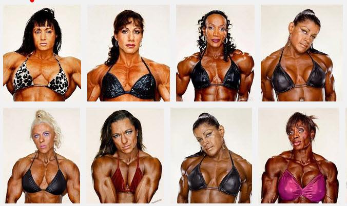 Мышцы у женщин